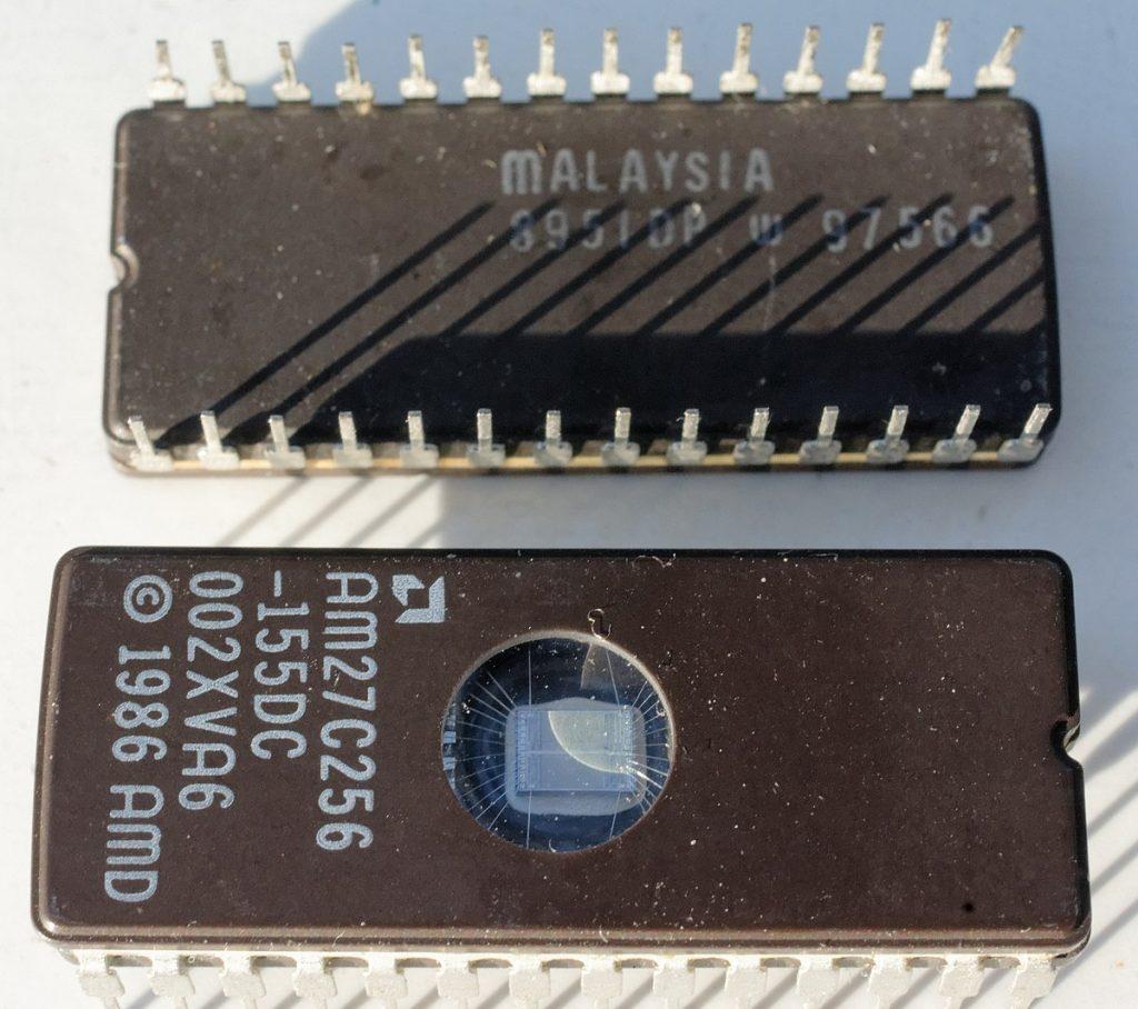 BIOS čip iz 80tih godina